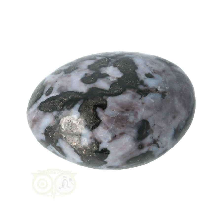 Gabbro Merliniet handsteen Nr 17- 108 gram - Madagaskar-3