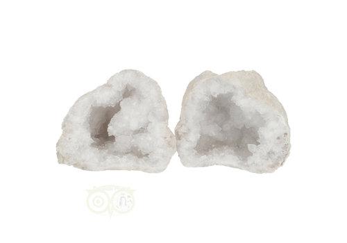 Bergkristal sterkristal geode 523 gram