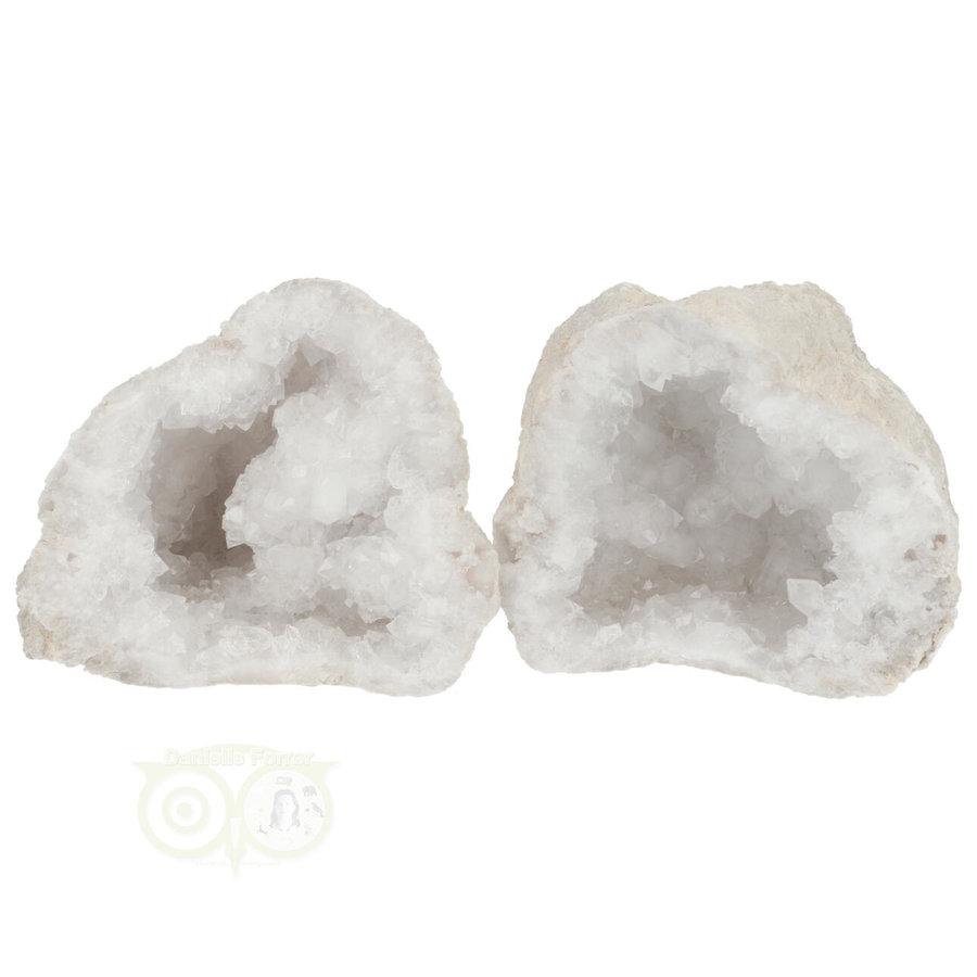 Bergkristal sterkristal geode 523 gram-1