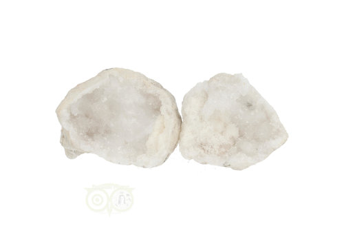 Bergkristal sterkristal geode 234 gram