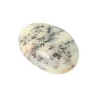thumb-Dendriet Opaal - Agaat handsteen - Small Nr 19 - 18 gram-1