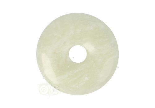 Serpentijn ( New Jade )  Donut Nr 3 - Ø 4  cm