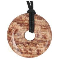 thumb-Aragoniet Donut Nr 2 - Ø 4  cm-2
