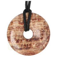thumb-Aragoniet Donut Nr 2 - Ø 4  cm-4