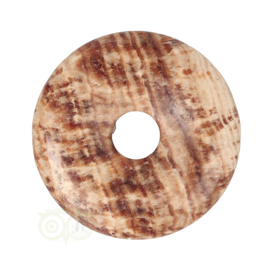 Aragoniet Donut Nr 5 - Ø 4  cm-1