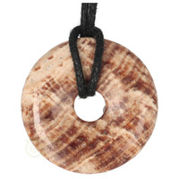 thumb-Aragoniet Donut Nr 5 - Ø 4  cm-4