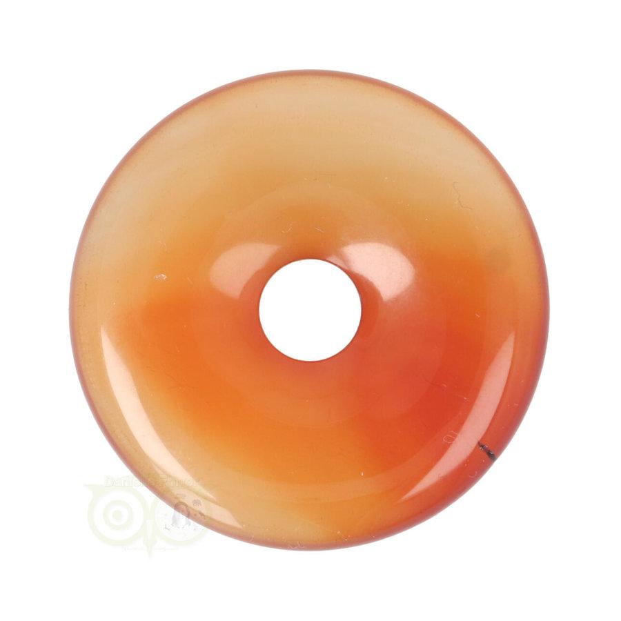 Carneool Donut hanger Nr 7 - Ø 4 cm-1