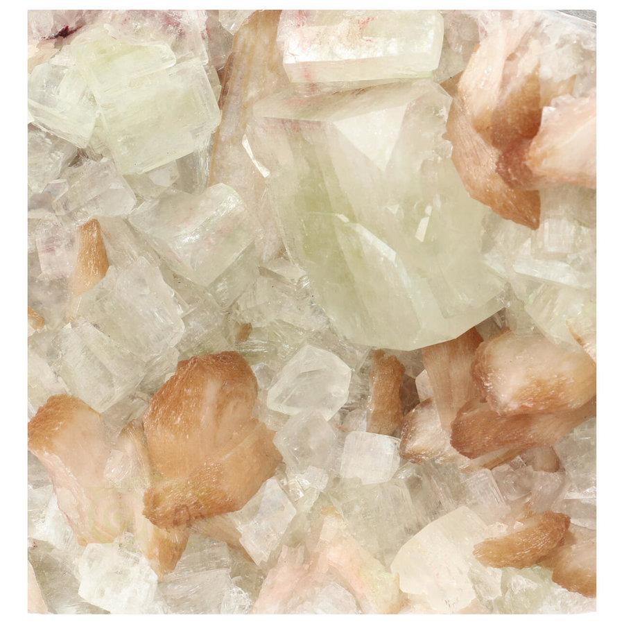 Apofyliet met stilbiet cluster Nr 27 - 1344  gram-2