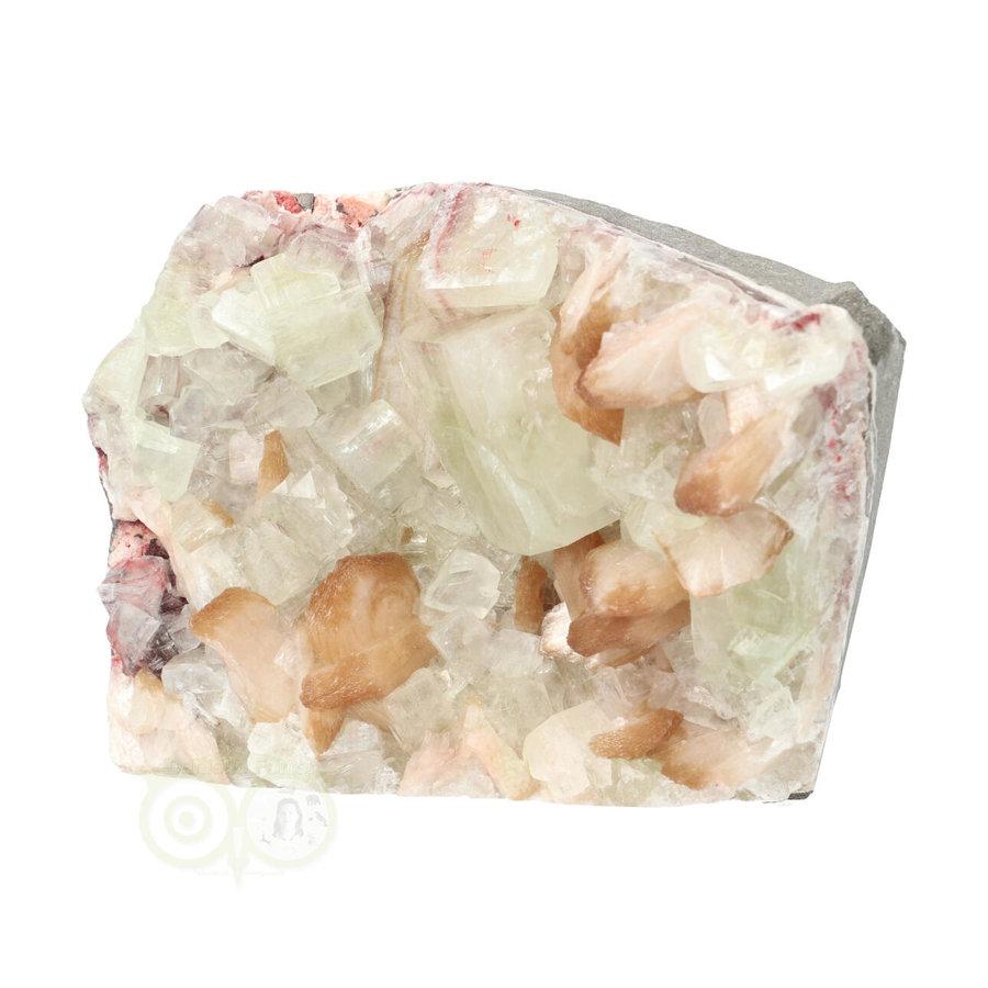 Apofyliet met stilbiet cluster Nr 27 - 1344  gram-3