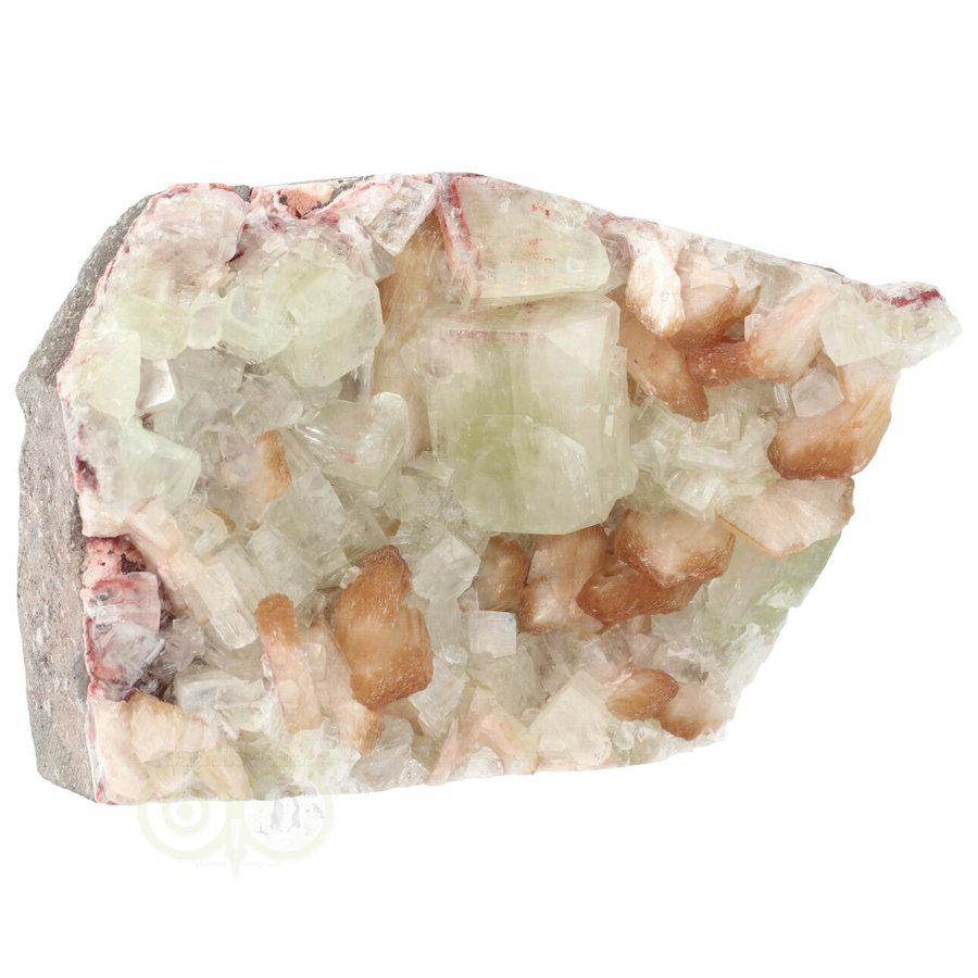 Apofyliet met stilbiet cluster Nr 27 - 1344  gram-9