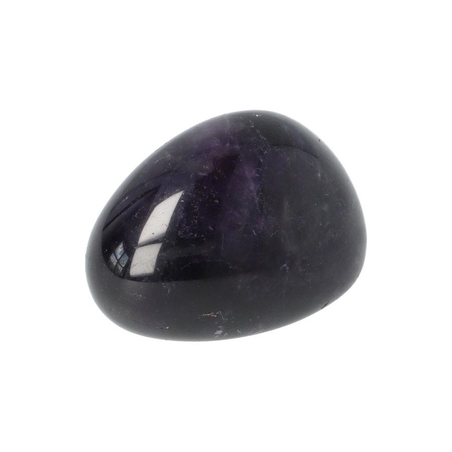 Amethist geronde handsteen Nr 47 - 35 gram-3