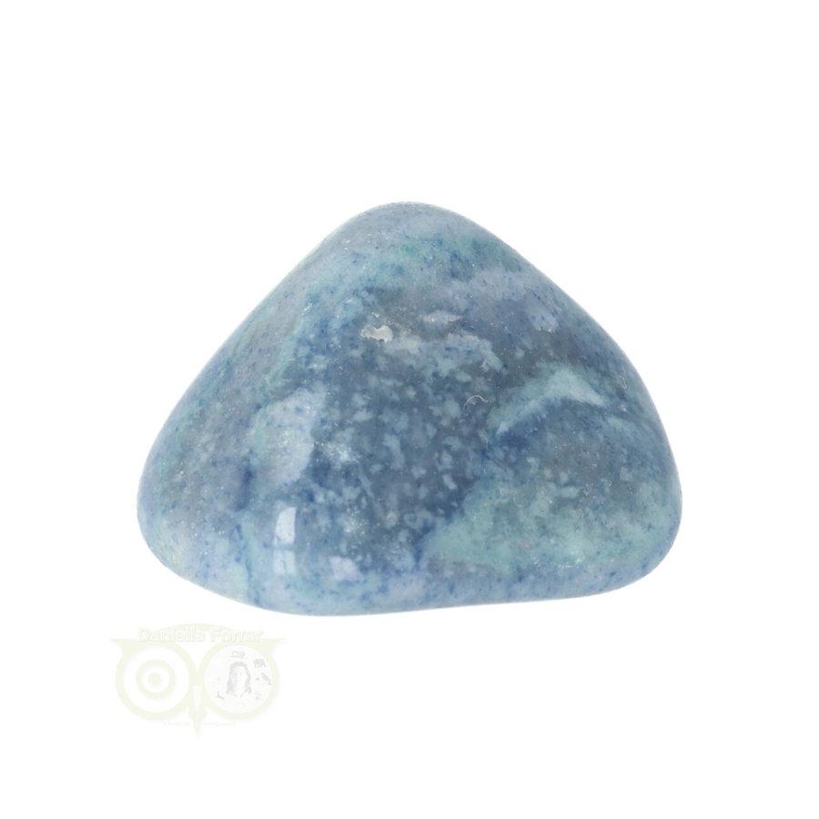 Blauwe kwarts trommelsteen Nr 14- 34 gram-10