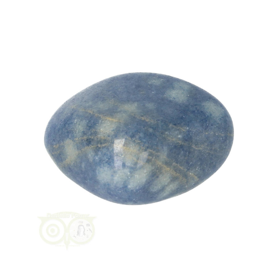 Blauwe kwarts trommelsteen Nr 16 - 31 gram-2
