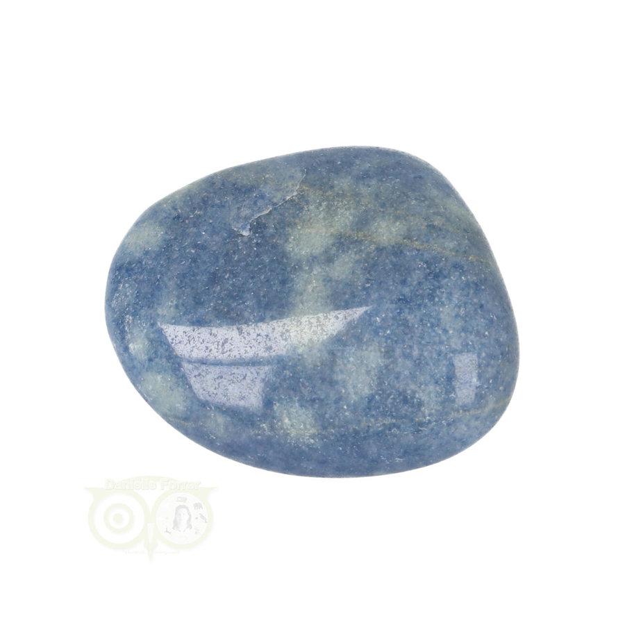 Blauwe kwarts trommelsteen Nr 16 - 31 gram-6