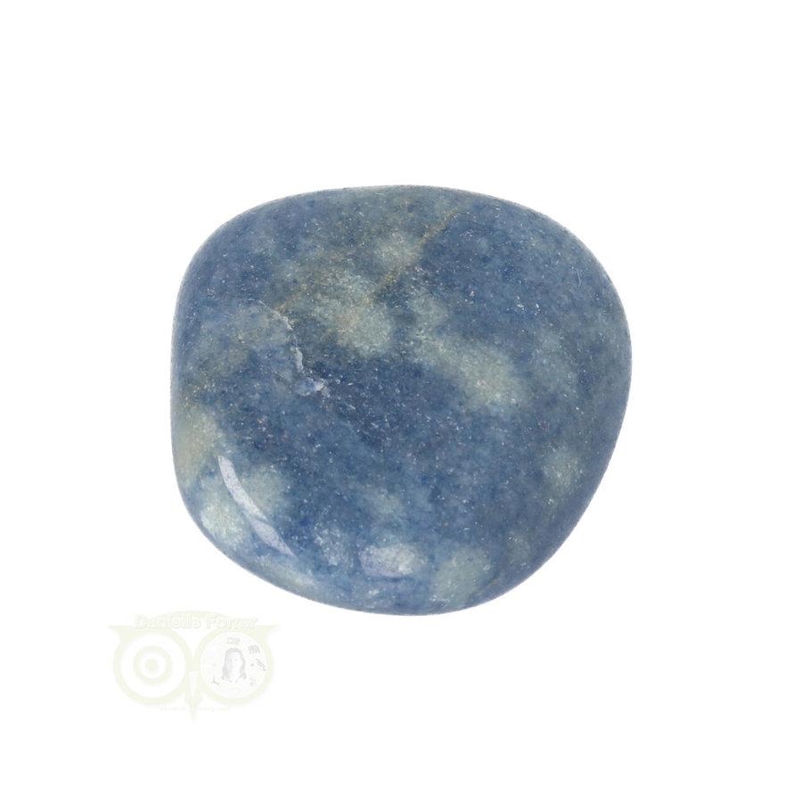 Blauwe kwarts trommelsteen Nr 16 - 31 gram-10