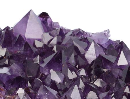 Nieuwe lichting: Amethist kristal clusters