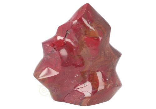 Rode Jaspis vlam sculptuur Nr 11