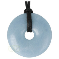thumb-Angeliet ( Anhydriet ) Donut Nr 14 - Ø 4cm-2