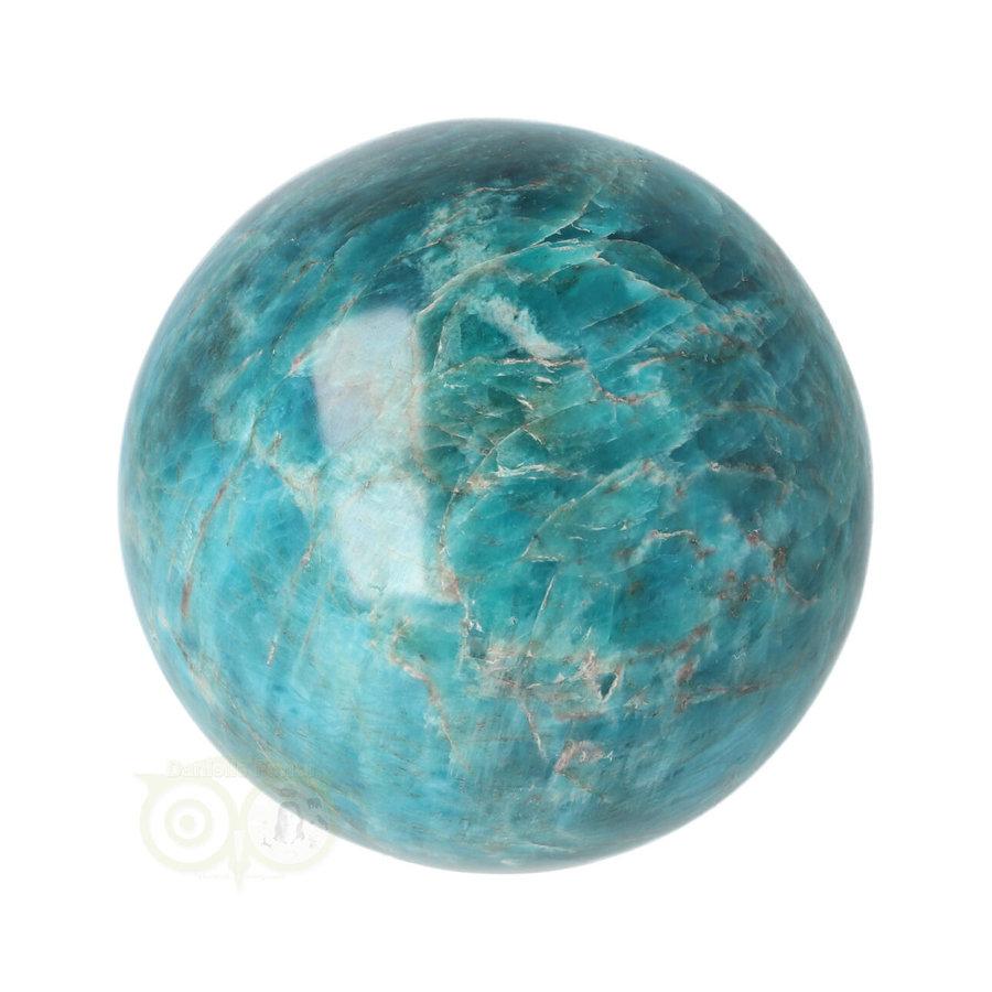 Blauwe Apatiet  Bol Nr 8 - Ø 6.53 cm  - 461 gram-2