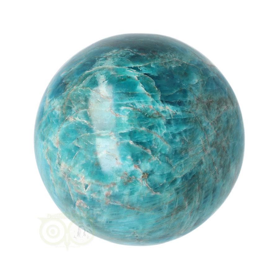 Blauwe Apatiet  Bol Nr 8 - Ø 6.53 cm  - 461 gram-3