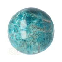 thumb-Blauwe Apatiet  Bol Nr 8 - Ø 6.53 cm  - 461 gram-4