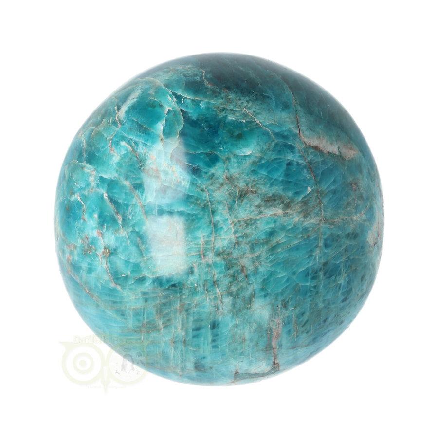 Blauwe Apatiet  Bol Nr 8 - Ø 6.53 cm  - 461 gram-4