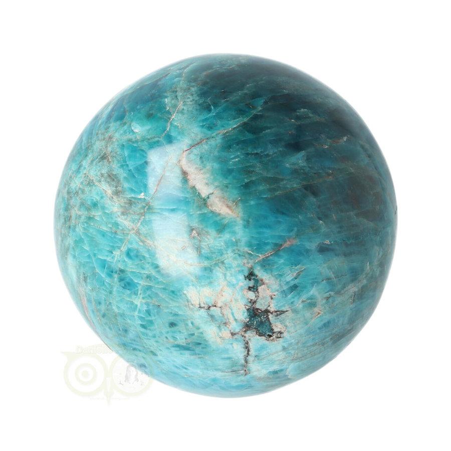 Blauwe Apatiet  Bol Nr 8 - Ø 6.53 cm  - 461 gram-6