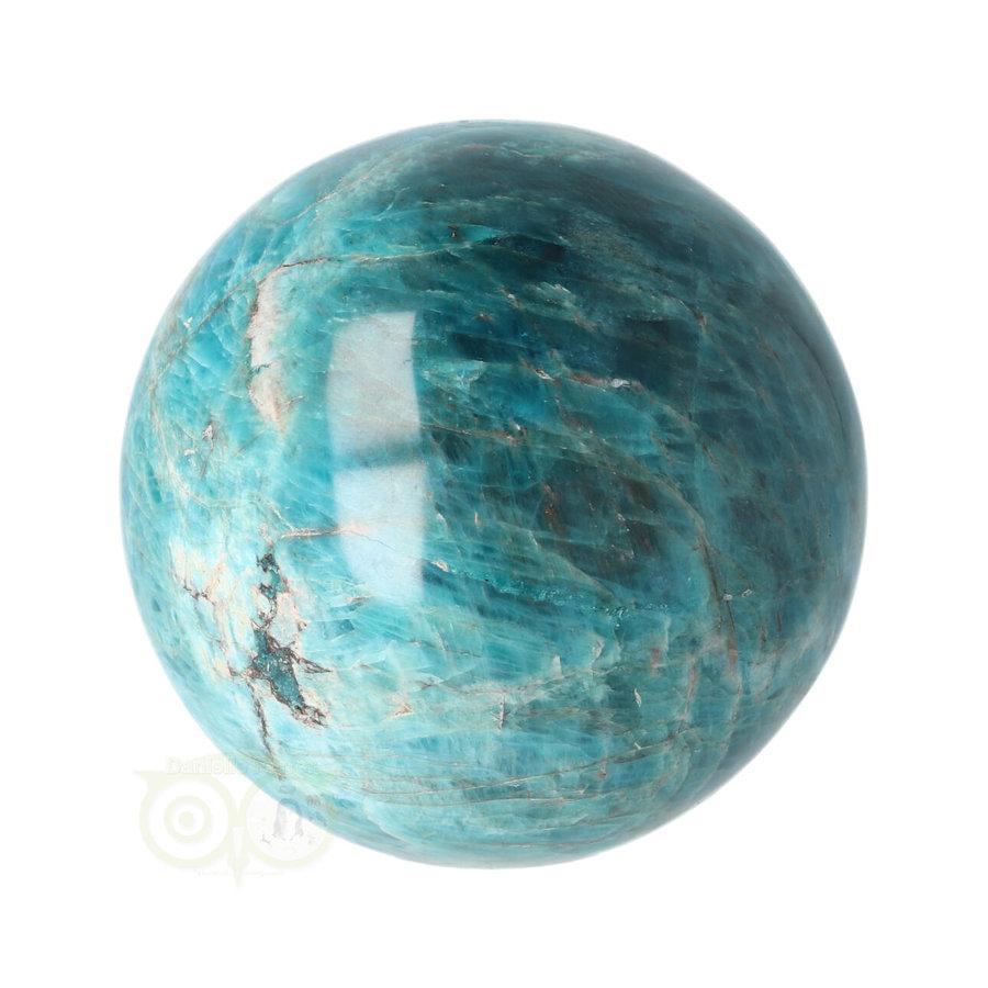 Blauwe Apatiet  Bol Nr 8 - Ø 6.53 cm  - 461 gram-7