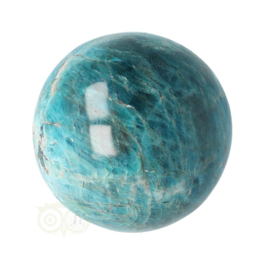 Blauwe Apatiet  Bol Nr 8 - Ø 6.53 cm  - 461 gram-8