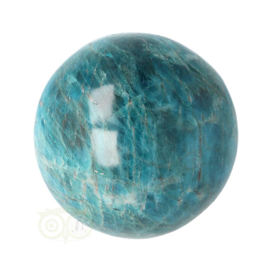 Blauwe Apatiet  Bol Nr 8 - Ø 6.53 cm  - 461 gram-9
