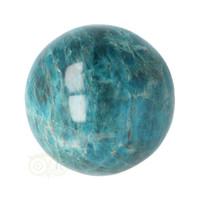 thumb-Blauwe Apatiet  Bol Nr 8 - Ø 6.53 cm  - 461 gram-10