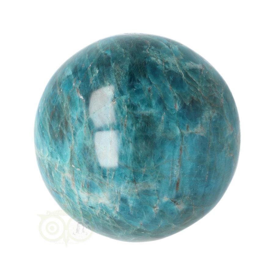 Blauwe Apatiet  Bol Nr 8 - Ø 6.53 cm  - 461 gram-10