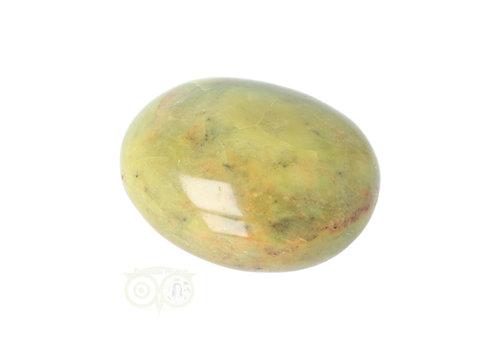 Groene Opaal handsteen Nr 35