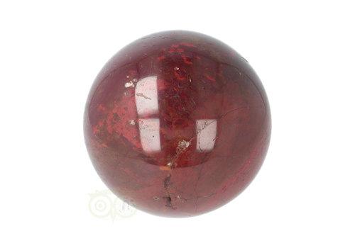 Rode Jaspis bol Nr 19 - Ø 6.20 cm