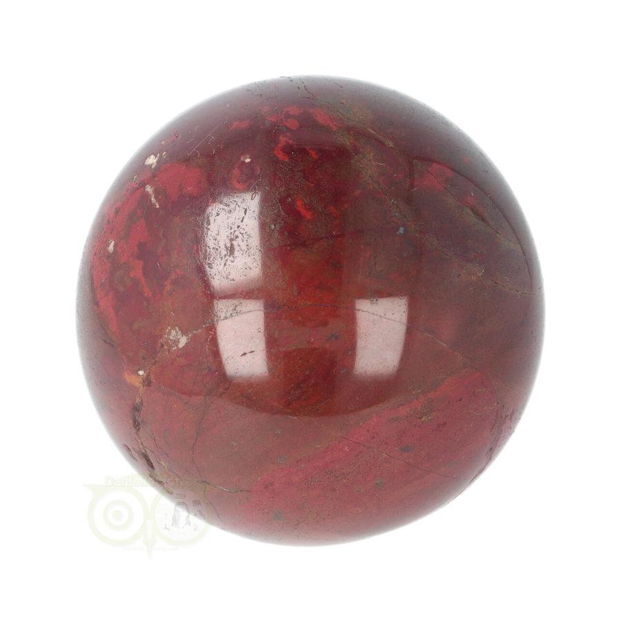Rode Jaspis bol Nr 19 - Ø 6.20 cm - 345 gram - Madagaskar-3