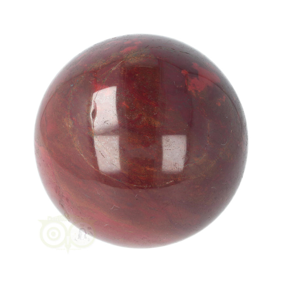 Rode Jaspis bol Nr 19 - Ø 6.20 cm - 345 gram - Madagaskar-6