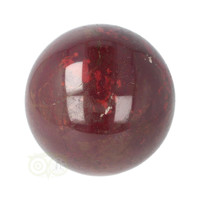 thumb-Rode Jaspis bol Nr 19 - Ø 6.20 cm - 345 gram - Madagaskar-8