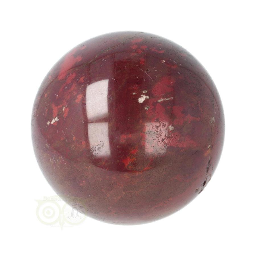 Rode Jaspis bol Nr 19 - Ø 6.20 cm - 345 gram - Madagaskar-9