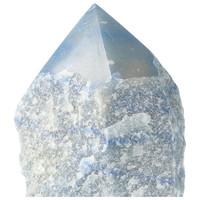 thumb-Blauwe kwarts  geslepen Punt  ( Generator ) Nr 10 - 366 gram-2