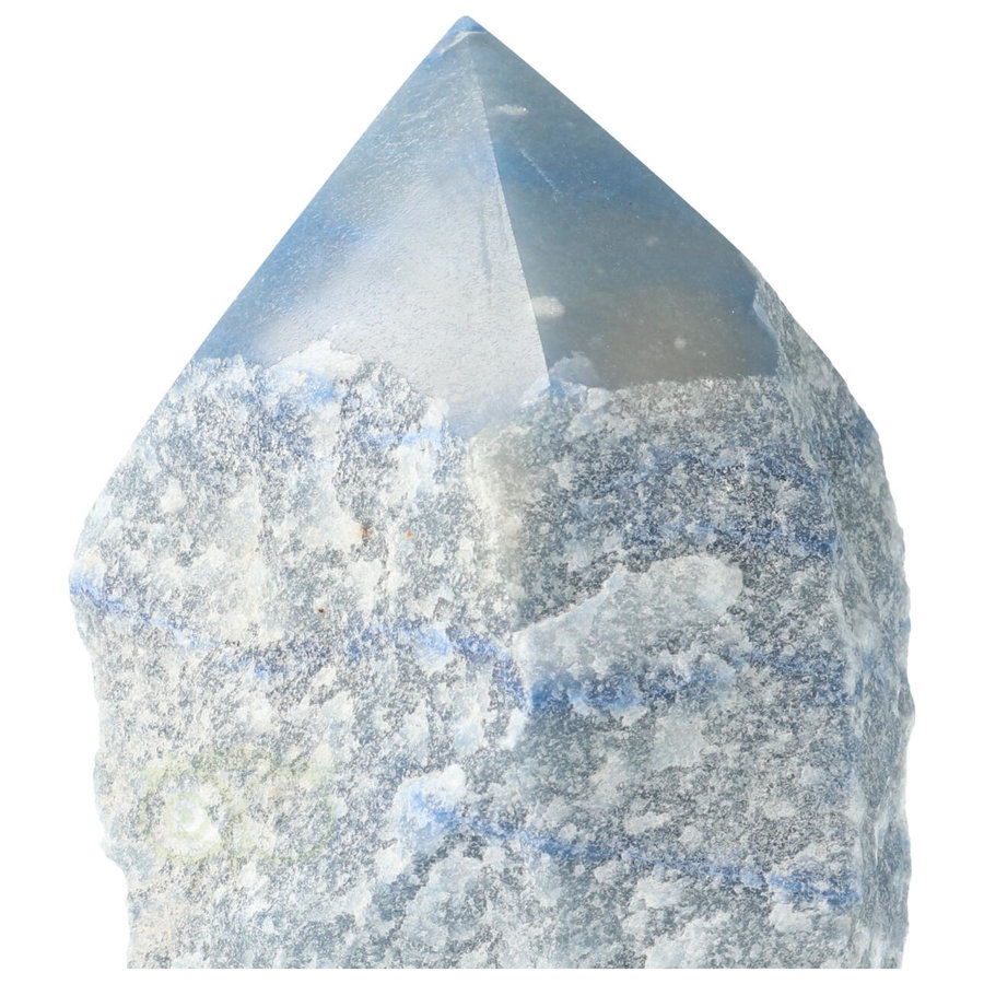 Blauwe kwarts  geslepen Punt  ( Generator ) Nr 10 - 366 gram-2