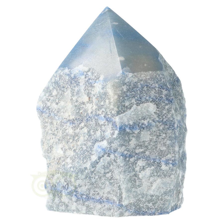 Blauwe kwarts  geslepen Punt  ( Generator ) Nr 10 - 366 gram-1
