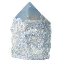 thumb-Blauwe kwarts  geslepen Punt  ( Generator ) Nr 10 - 366 gram-3