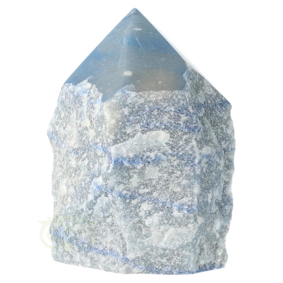 Blauwe kwarts  geslepen Punt  ( Generator ) Nr 10 - 366 gram-3