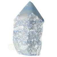thumb-Blauwe kwarts  geslepen Punt  ( Generator ) Nr 10 - 366 gram-4