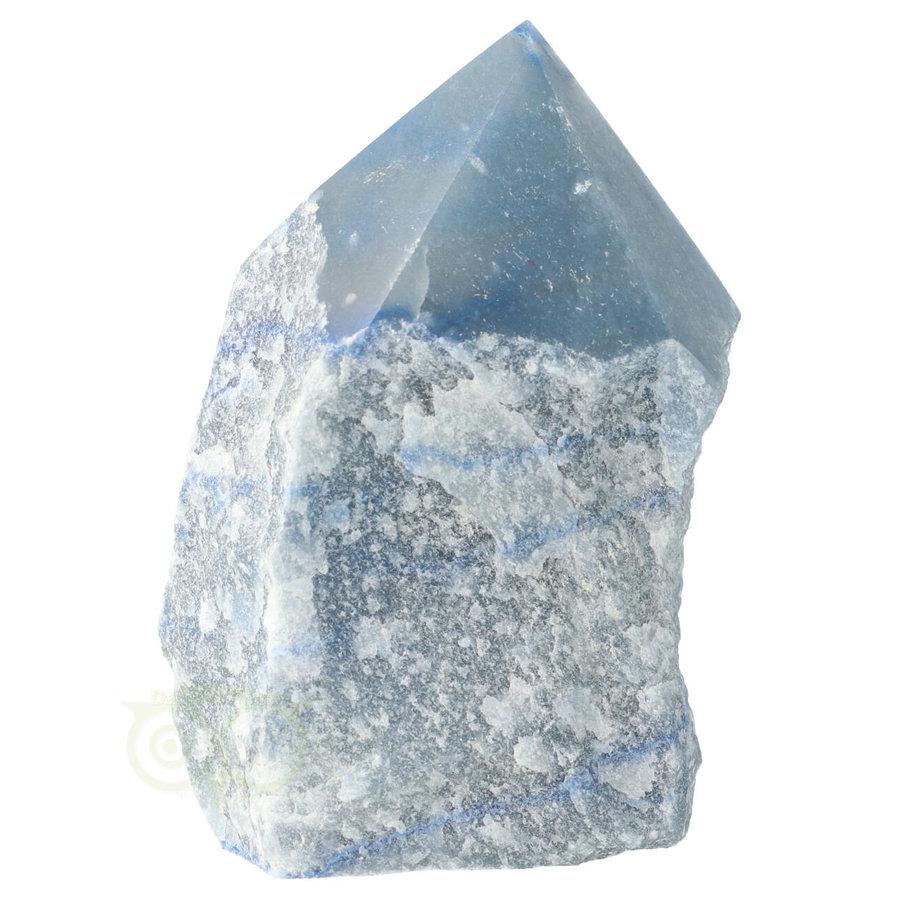 Blauwe kwarts  geslepen Punt  ( Generator ) Nr 10 - 366 gram-5