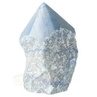 thumb-Blauwe kwarts  geslepen Punt  ( Generator ) Nr 10 - 366 gram-9