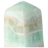 thumb-Caribbean Blue Calciet Punt - obelisk Nr 9 -  439 gram-2