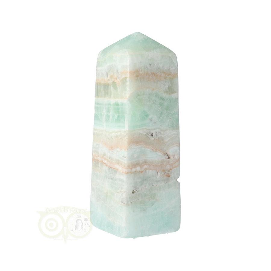 Caribbean Blue Calciet Punt - obelisk Nr 9 -  439 gram-5