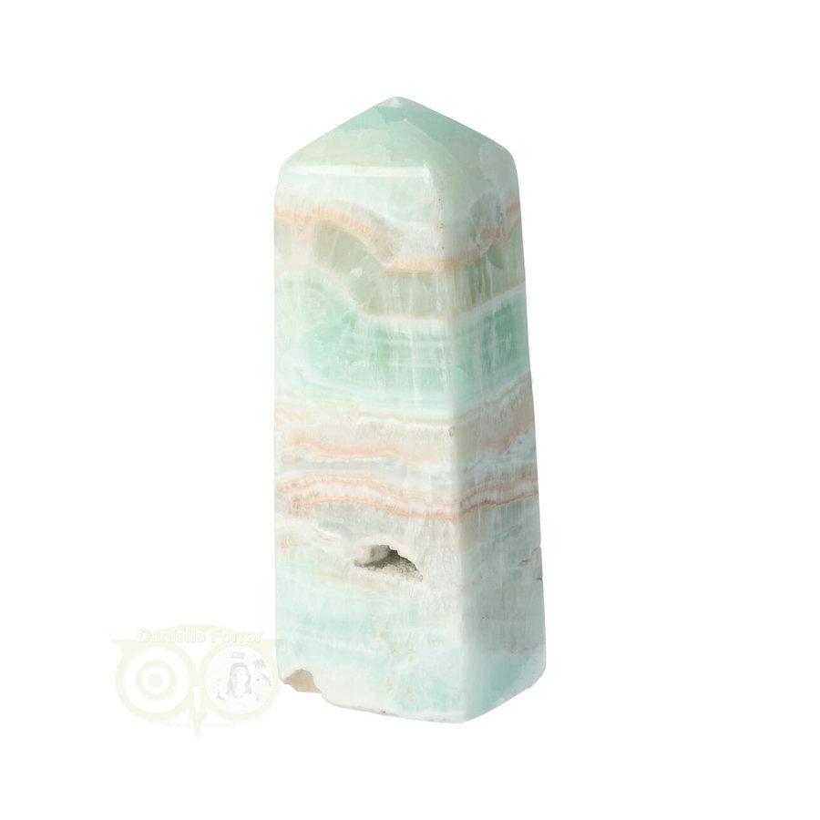 Caribbean Blue Calciet Punt - obelisk Nr 9 -  439 gram-10