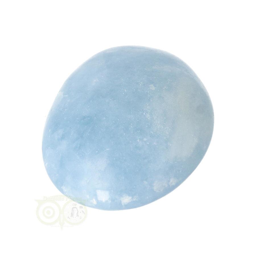 Blauwe Calciet handsteen Nr 45 - 99  gram - Madagaskar-2